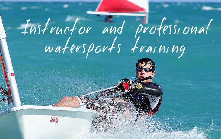 Instructor and professional watersports training