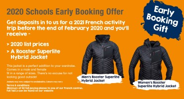 Schools Early Booking Offer & Free Gift