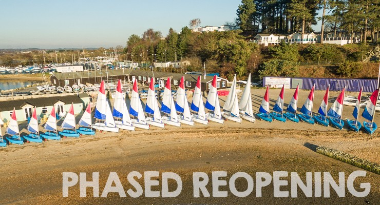 Rockley Watersports phased reopening