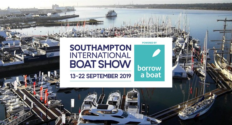 Visit us at the Southampton Boat Show 13-22 September 2019
