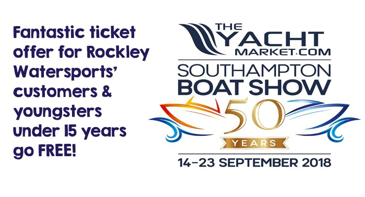 Visit us at the 2018 Southampton Boat Show