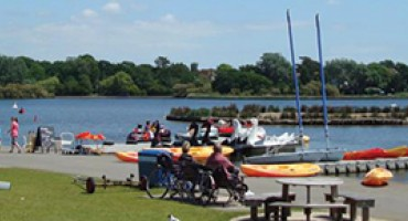 A day in the life of Poole Park Lake