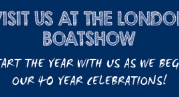VISIT US AT THE LONDON BOAT SHOW