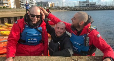 Our hair shaving heroes raise over £3600