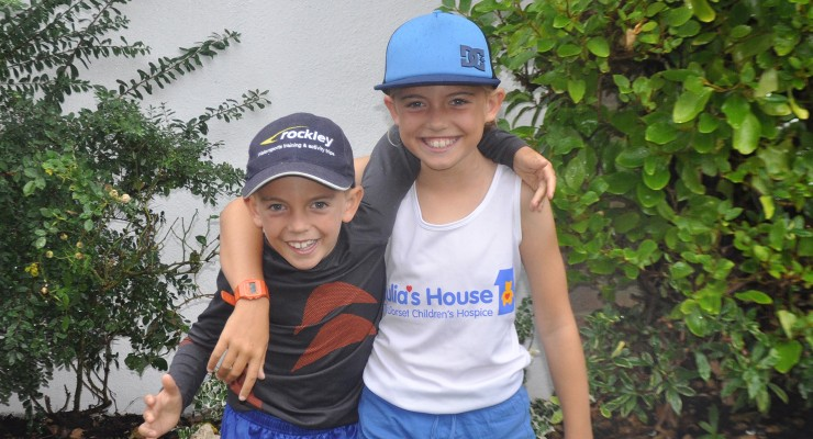 Rockley Watersports family and friends run for Julia's House