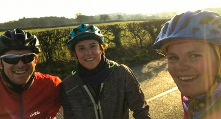 Rockley's trio triathlon challenge